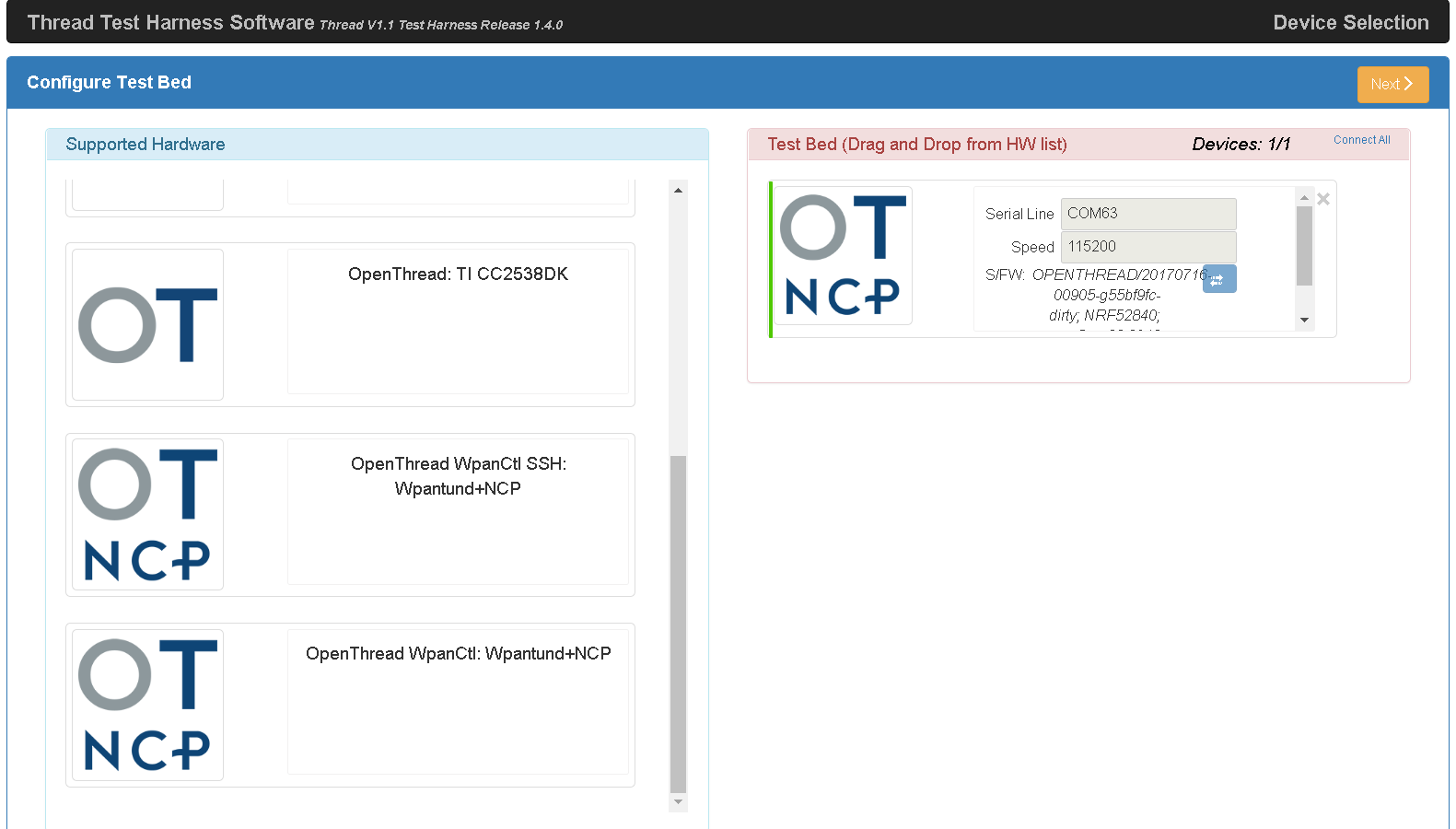 OTBR-Zertifizierung SSH