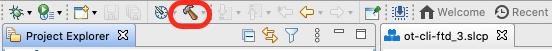Build project button