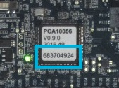 nRF52840 الرقم التسلسلي