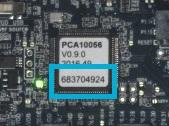 nRF52840シリアル番号