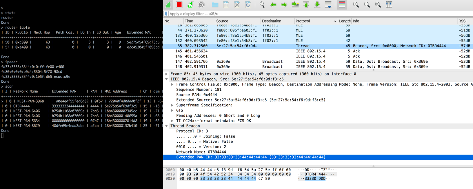 Wireshark Capture