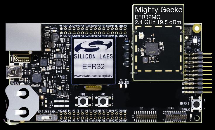 Silikon Laboratuvarları EFR32MG13