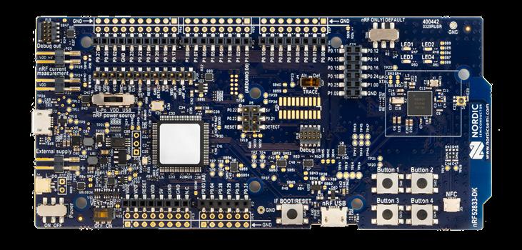 নর্ডিক অর্ধপরিবাহী nRF52833