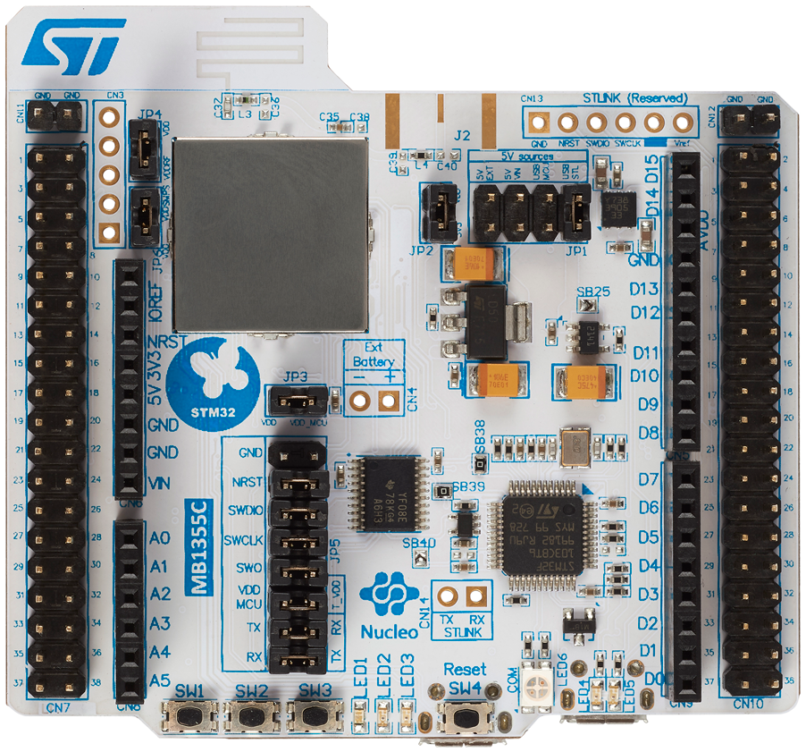 ST Microelectrónica STM32WB55